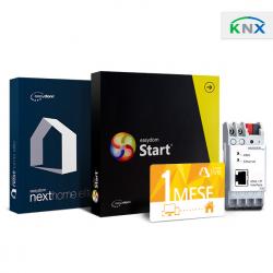 Bundle KNX Interfaccia IP + Easydom Start