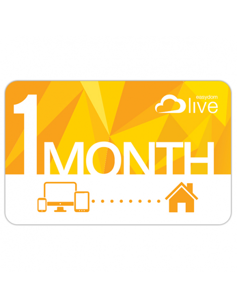 Easydom Live subscription 1 Month